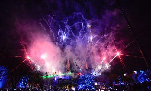 Se ilumina Guadalajara en su cumpleaños