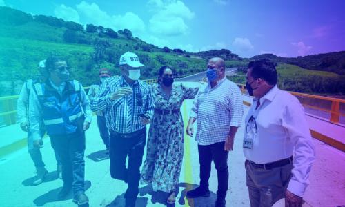 Se entregan obras públicas para la zona Sierra Occidental