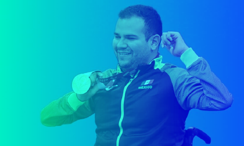 ¡Felicidades, Diego López! El paratleta gana su 2.ª medalla en los Juegos Paralímpicos de Tokio 2020